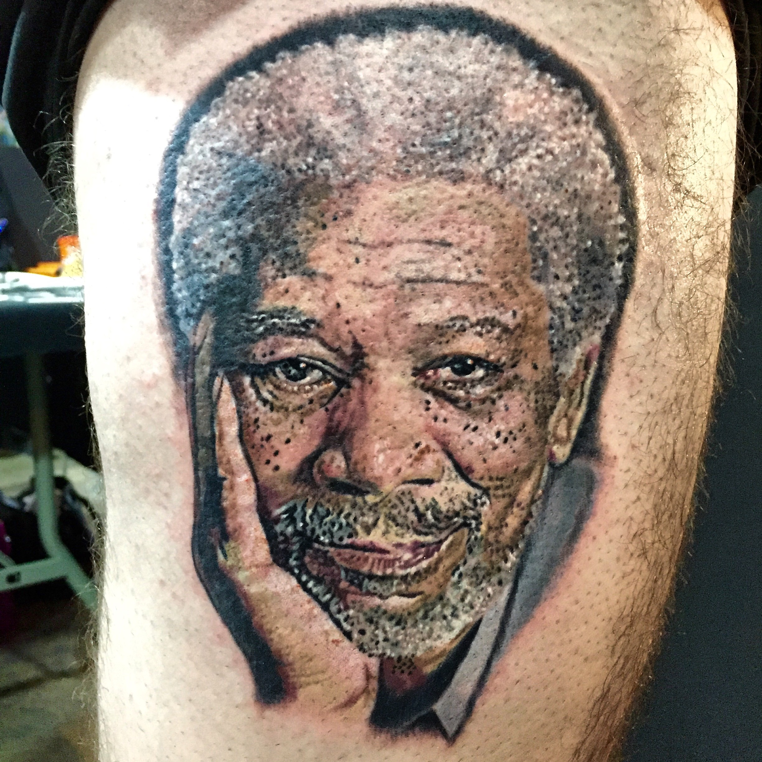 morgan freeman tattoo jason parry