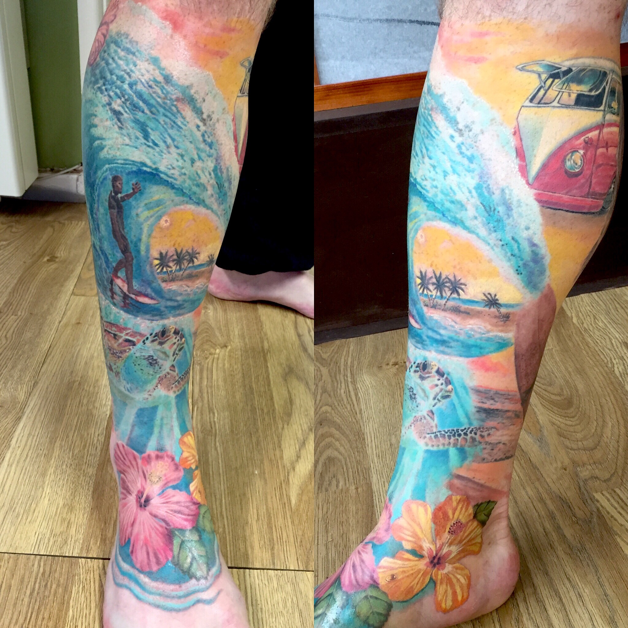 surf leg sleeve