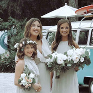 The Bridal Tribe  Fun transportation to your ceremony or shuttle with our precious bus.