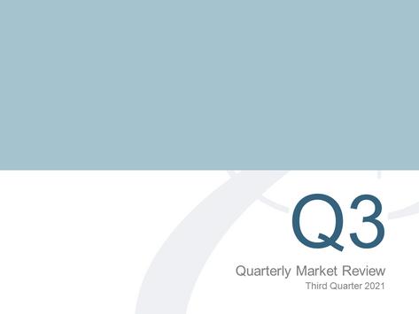 3rd Quarter Market Review