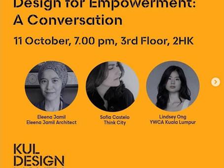 Design For Empowerment: A Conversation