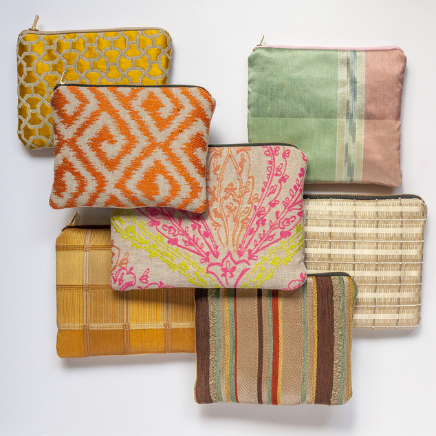 Upcycle Pouch Collection