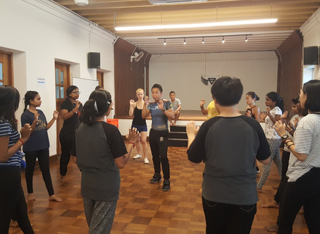 Self Defense Class by Alvin Chong