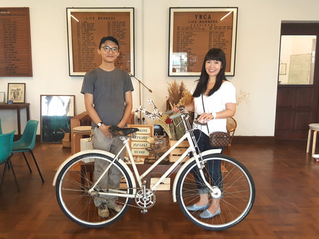 Vintage Bike Donation by Jeffrey Lim