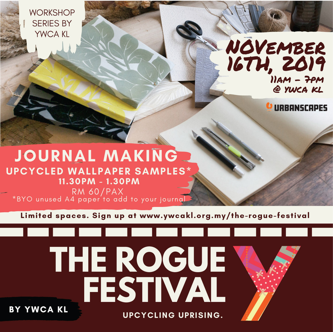 YWCA KL - The Rogue Festival - Workshop