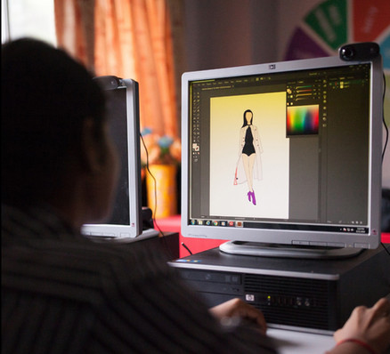 Process - Fashion Illustration Class (2)