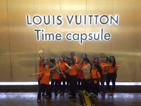 Study Visit to Louis Vuitton Time Capsule Exhibition