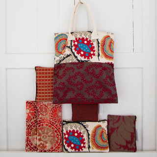 Tote, Clutch, Pouch Collection - Ninja Nomads