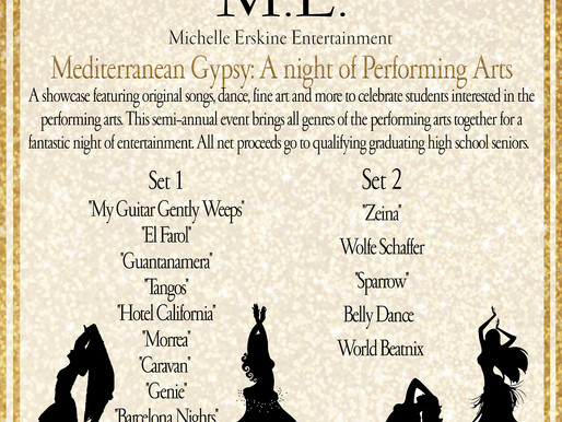 Mediterranean Gypsy: A Night Of Performing Arts - Saturday, June 2nd @ Art Truckee Gallery