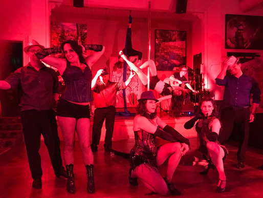 "Michelle Erskine Entertainment presents ""Cabaret: A Night Of Performing Arts"""