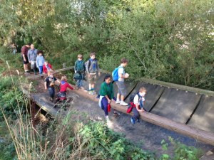 3RD Timperley Cubs do the Crocky Trail