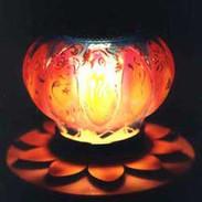 lampada fiore