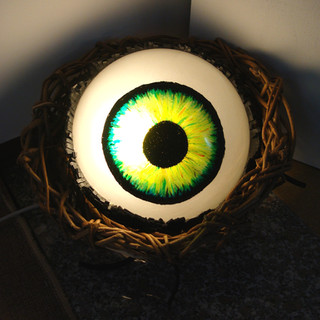 lampada occhio