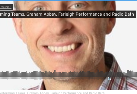 Listen again - Graham Abbey on teams and teaming