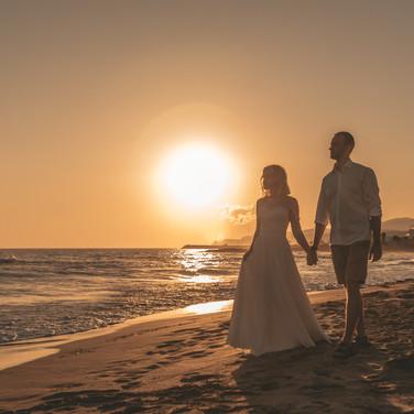 Свадебный фотограф на Крите, Санторини
