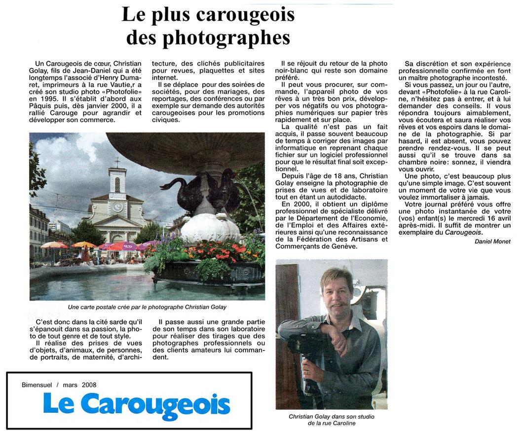 Le Carougeois