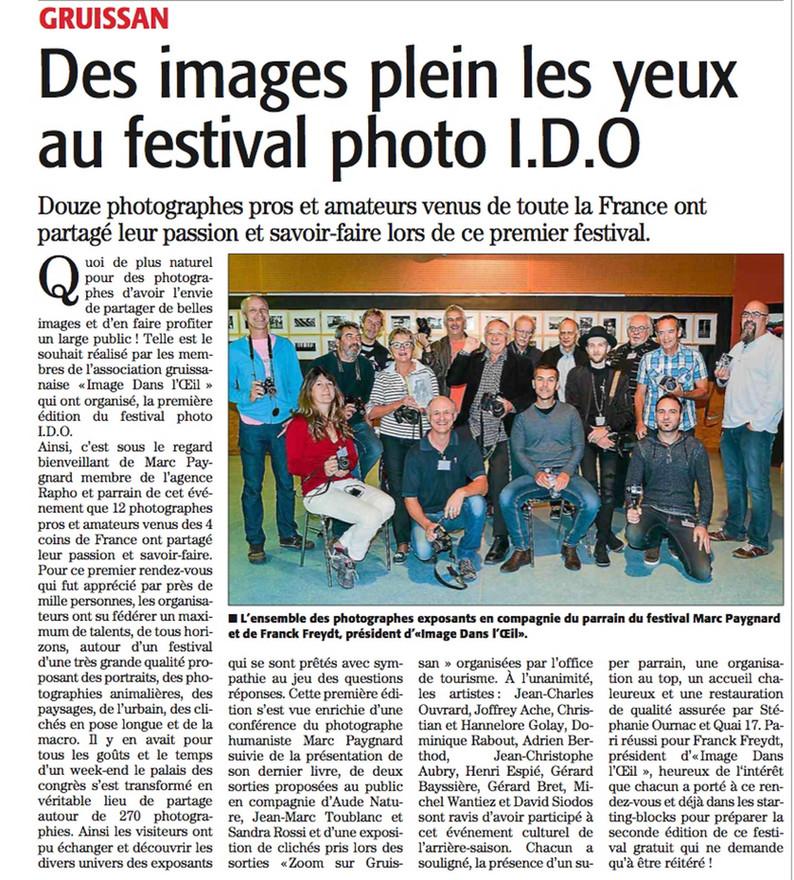 1er Festival Photo de Gruissan