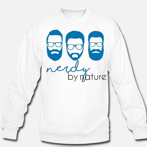 Nerdy by Nature - Crewneck Sweatshirt