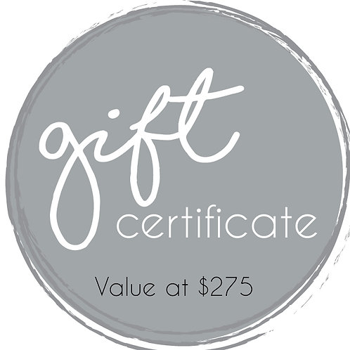 Silver Gift Certificate