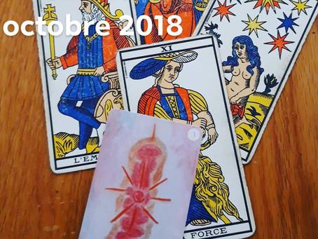 Tarot Psy - Pleine Lune d'Octobre 2018