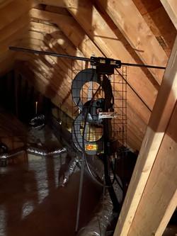 Antenna Attic Install