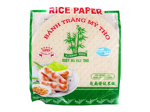 Rýžové papíry na balení čerstvých závitků TUFOCO 22cm 400g
