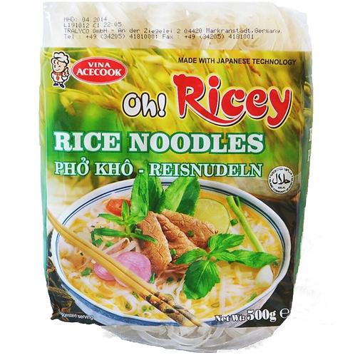 PHO OH-RICEY Rýžové nudle ploché široké 500g