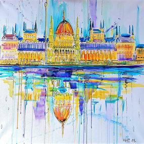 """Impression vom Parlament in Budapest, Ungarn"""