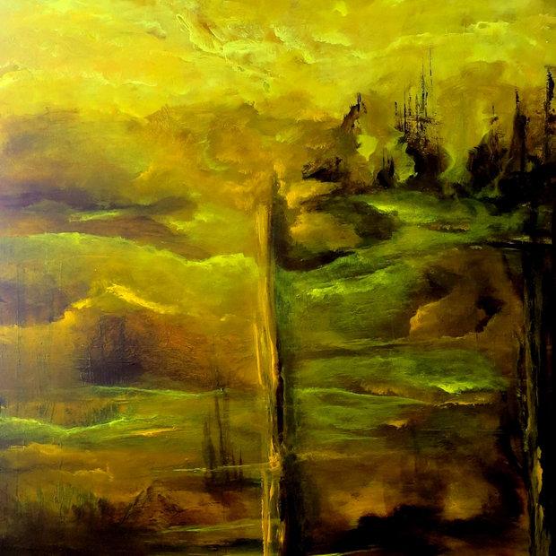 """Mystische Landschaft"""