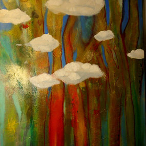 """""""Trees & Drifting Clouds"""""""