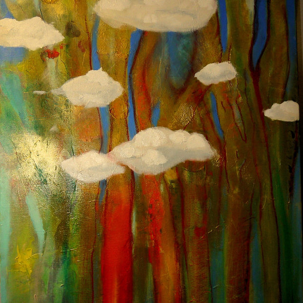 """Trees & Drifting Clouds"""