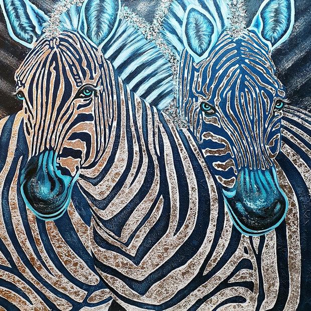"""""""Zebras in Silber"""""""