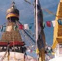 Bodnath . Nepal . 1995
