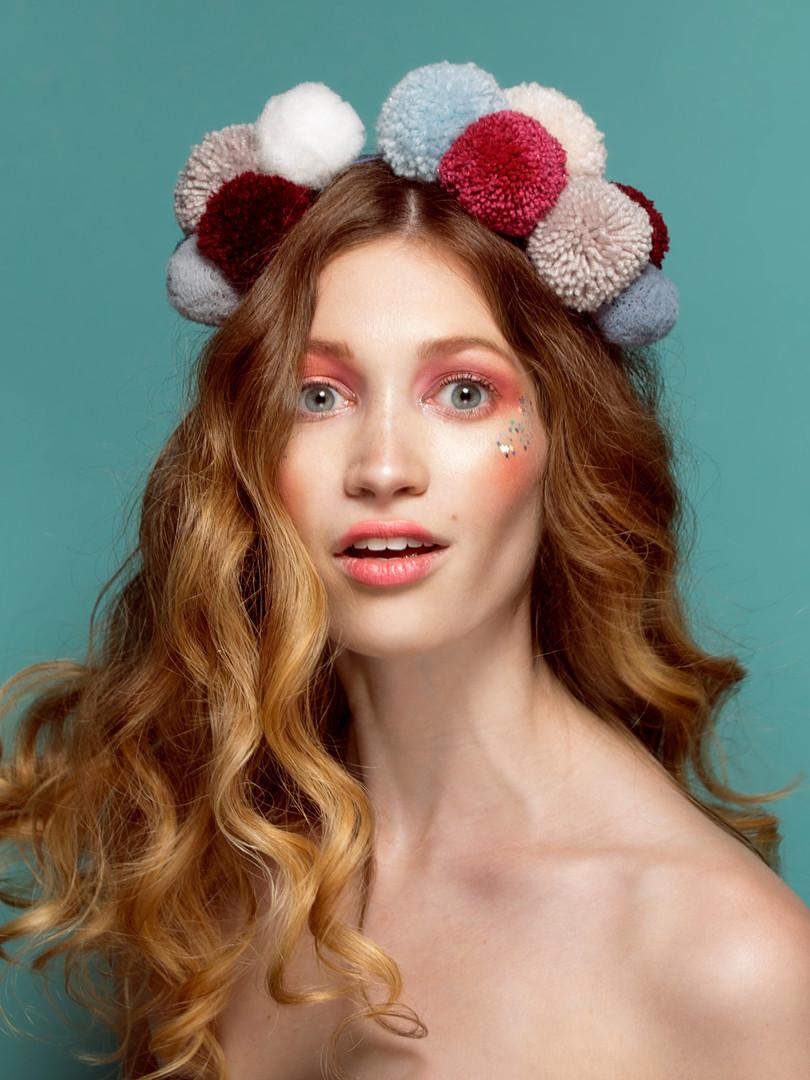 maquillaje publicidad tocados fiesta.JPG