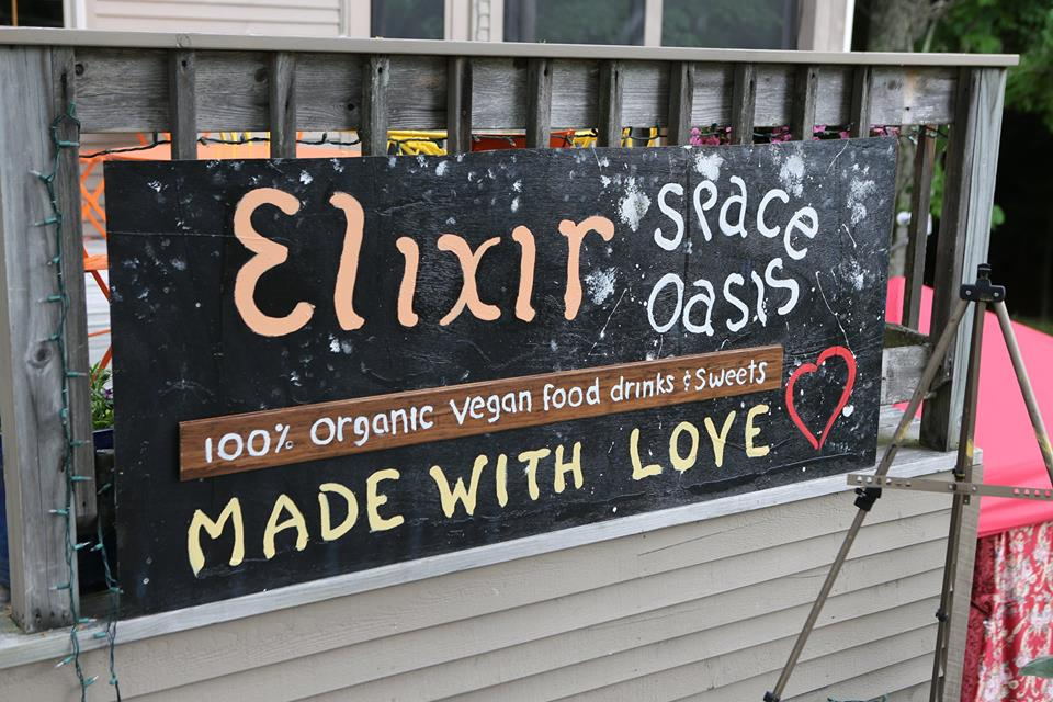 Elixir Festival Sign