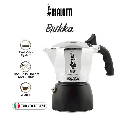 Bialetti New Brikka 2 cups 2020