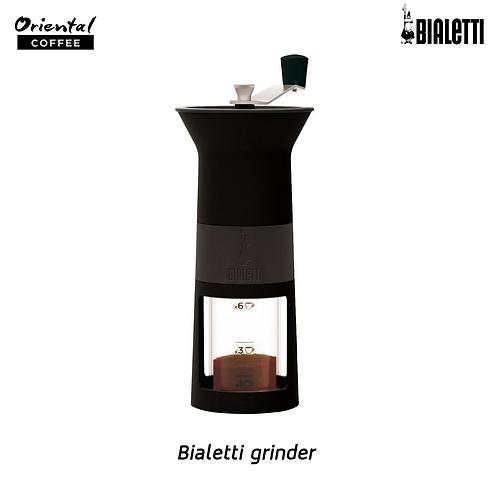 Bialetti เครื่องบดเมล็ดกาแฟ มือหมุน macinaffe ขนาด 1-6 cups