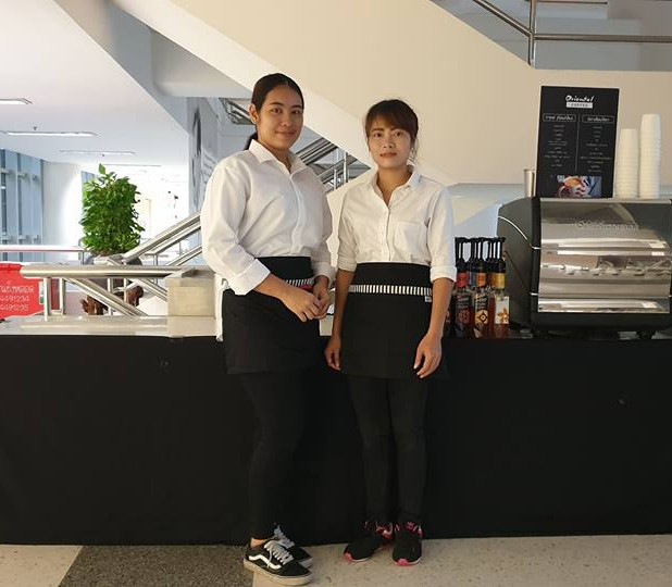 บริการกาแฟสดนอกสถานที่ งานประชุม สำนักงานปลัด 5-7/09/18