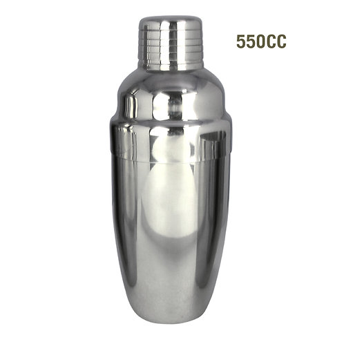 Stainless Cocktail Shaker 550 cc