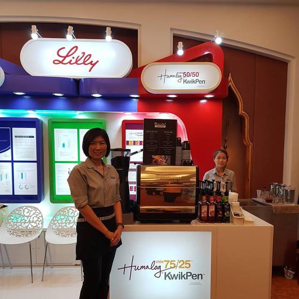 บริการกาแฟสดนอกสถานที่ งานประชุมวิชาการ Anantara Siam Bangkok