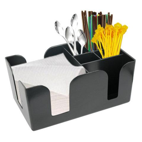 กล่องใส่ทิชชูและของใช้บนเคาเตอร์ service bar caddy