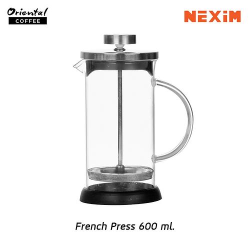 French press 600 ml.