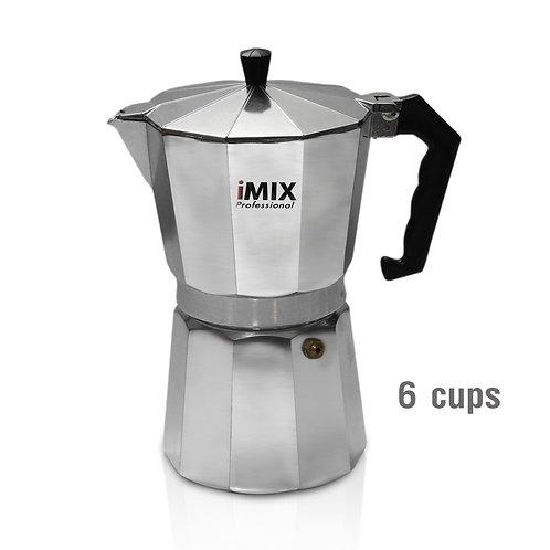 หม้อต้มกาแฟ Moka Pot Imix 6 cups