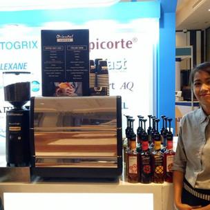 บริการกาแฟสดนอกสถานที่ งานสัมนา Bangkok Marriott 3/09/18