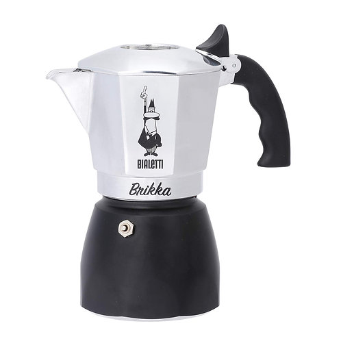 Bialetti Brikka Espresso maker 4 cups- Black bottom
