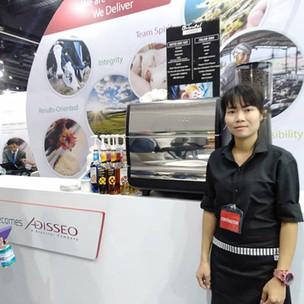 บริการกาแฟสดนอกสถานที่ งาน VIV Asia 2019