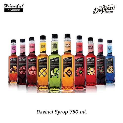 DaVinci Syrups 750ml