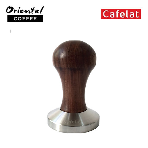 Espresso Tamper - Walnut Wood