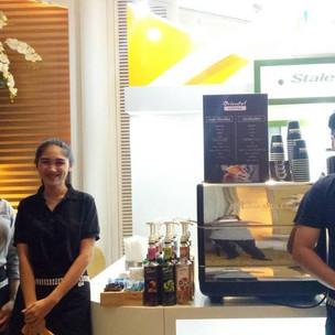 บริการกาแฟสดนอกสถานที่ งานประชุมวิชาการ โรงแรมดุสิตธานี