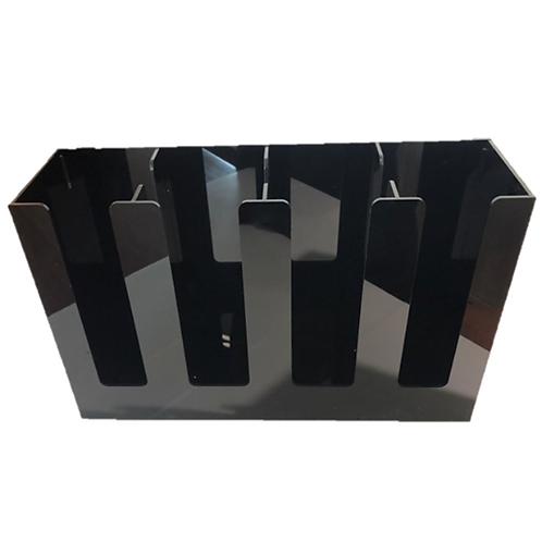 กล่องอะคริลิคใส่แก้วกาแฟเย็น 4 ช่อง